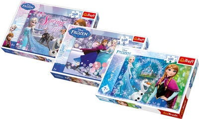 Disney Frozen Pusselpaket 3-pack