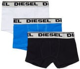 Diesel Ugov 3-pack Kalsong, Bluette/Black/White