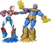 Marvel Avengers Bend And Flex Figurer 2-Pack