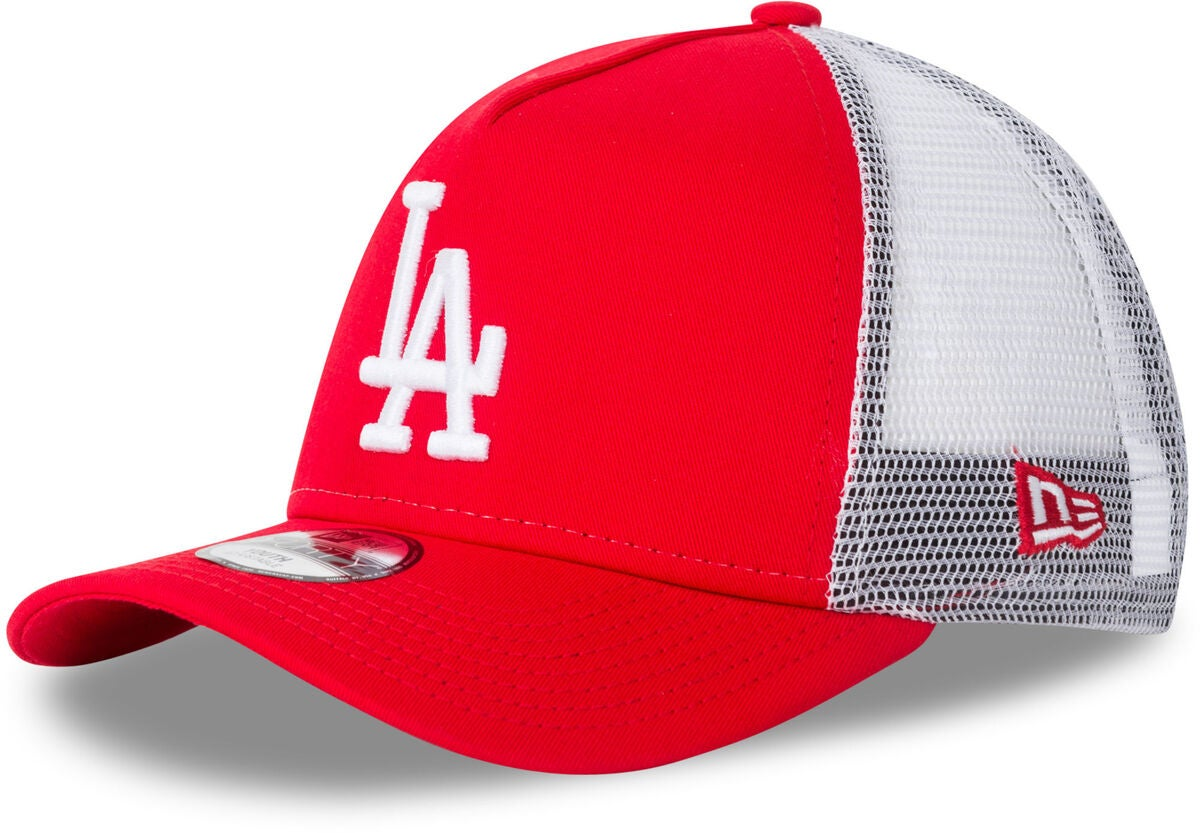 New Era League Essential TRUCK KIDS LO Keps, Scarlett/White
