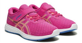 Asics Patriot 11 PS Sneaker, Pink Glo/Sun Coral