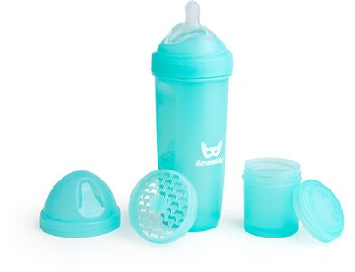 Herobility Baby Bottle Nappflaska 340 ml, Blå