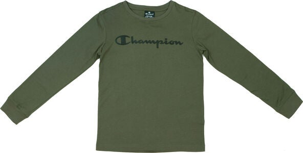 Champion Kids Långärmad T-Shirt, Winter Moss