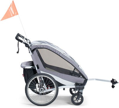 North 13.5 Active 2 Cykelvagn, Grey
