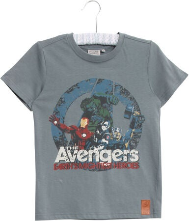 Wheat Disney Avengers T-shirt, Petroleum Blue