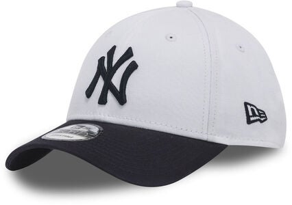 New Era MLB 9Forty Kids Keps, White/Navy