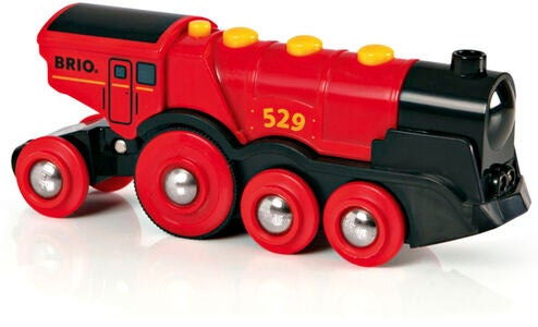BRIO World 33592 Rött Action-Lok