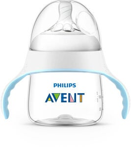 Philips Avent Natural Träningsmugg 150ml, Blå/Vit