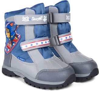 Paw Patrol Vinterstövel, Grey/Blue