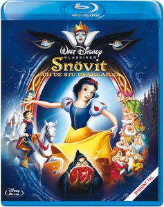 Disney Snövit Blu-Ray