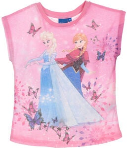 Disney Frozen T-Shirt, Rosa