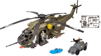 Soldier Force Operation Sandstorm Helikopter, Military Green