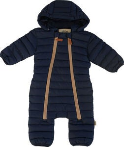 Ebbe Damon Quilted Overall, Deep Lake Blue