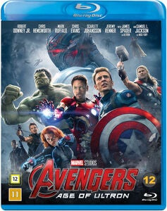 Marvel Avengers Age Of Ultron Blu-Ray