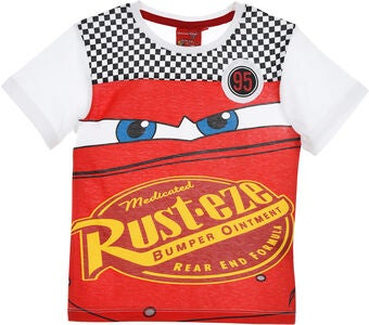 Disney Cars T-Shirt, Röd