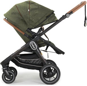 Emmaljunga NXT60  2-in-1 Duovagn 2021, Outdoor Olive