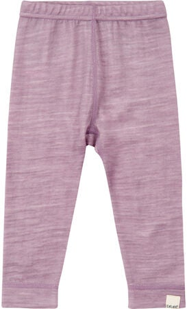 CeLaVi Leggings Ull, Purple Ash