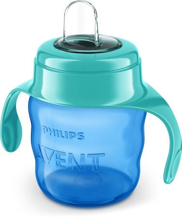 Philips Avent Classic Pipmugg 200 ml, Blue/Green