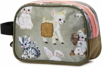 Pick & Pack Necessär Cute Animals, Beige
