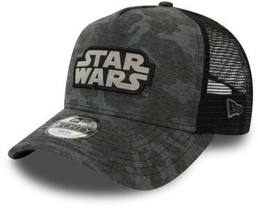 New Era Camo 9FORTY KIDS TRUCKER STAW Keps, Star Wars Graphite