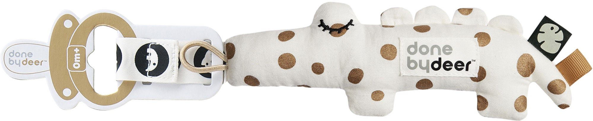 Done By Deer Tiny Tropics Cozy Keeper Napphållare Croco