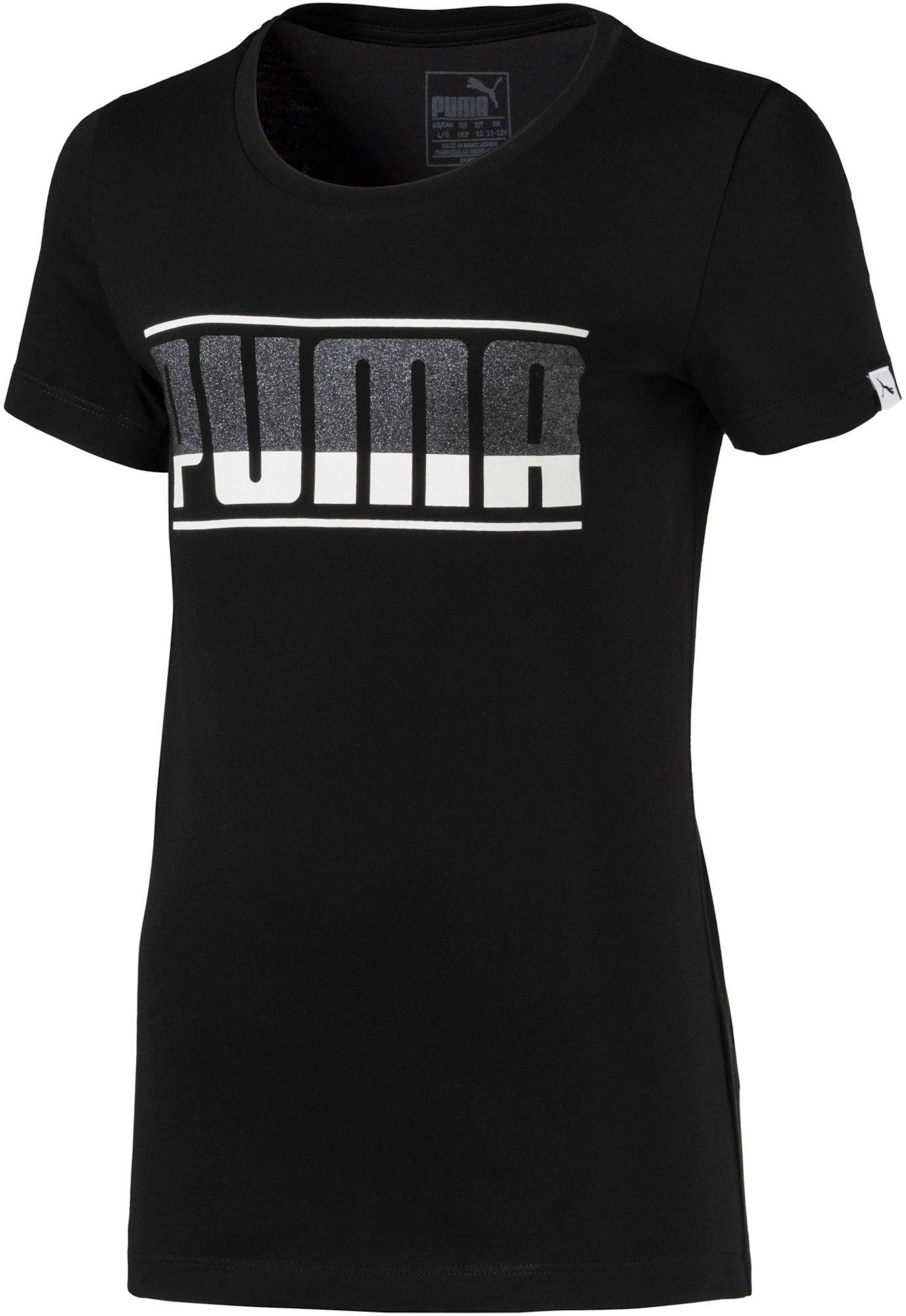 4a0fb7464c9e Köp Puma Style Graphic Tee, Black | Jollyroom
