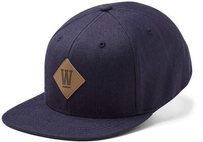State Of Wow West Youth Snapback Keps, Marinblå