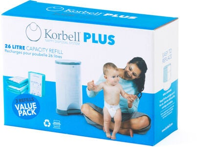 Korbell PLUS Refill 3-pack