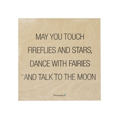 Köp Bloomingville Tavla Trä Talk to the Moon  cf14cb6cdcf54