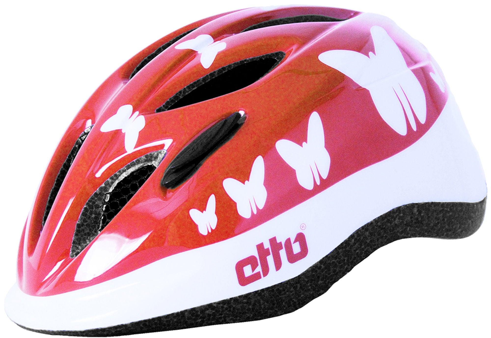 Etto Safe Ride Cykelhjälm, Happy Butterfly
