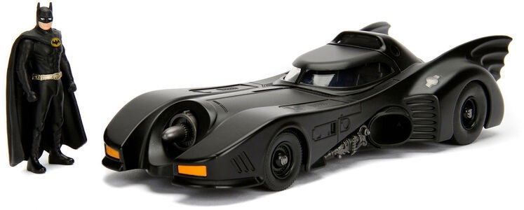 Batman 1989 Batmobile Med Figur