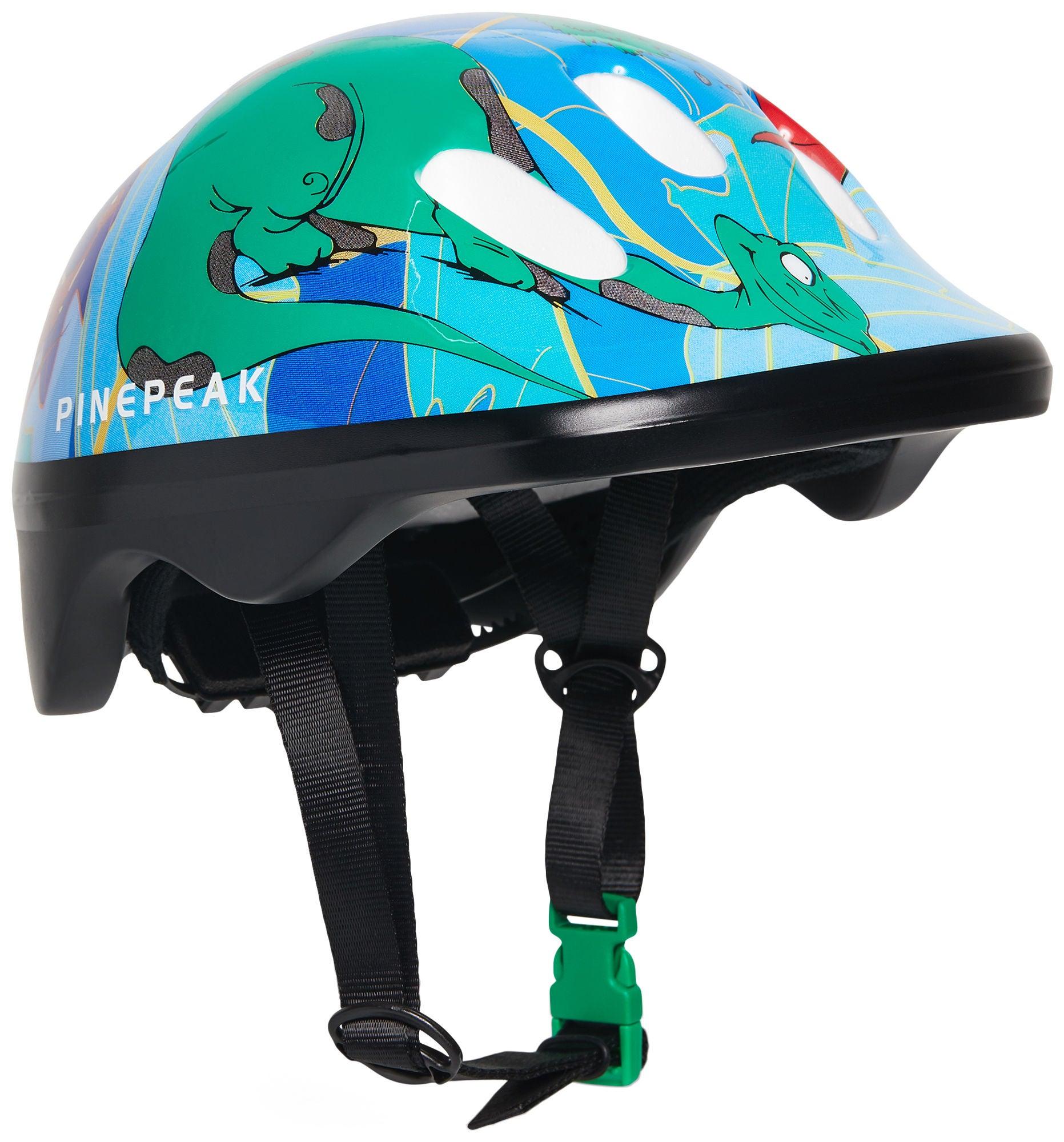 Pinepeak Dino Cykelhjälm, Blå S