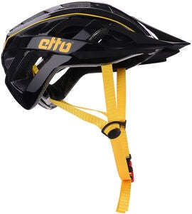 Etto Champery Jr MIPS Cykelhjälm, Black/Yellow