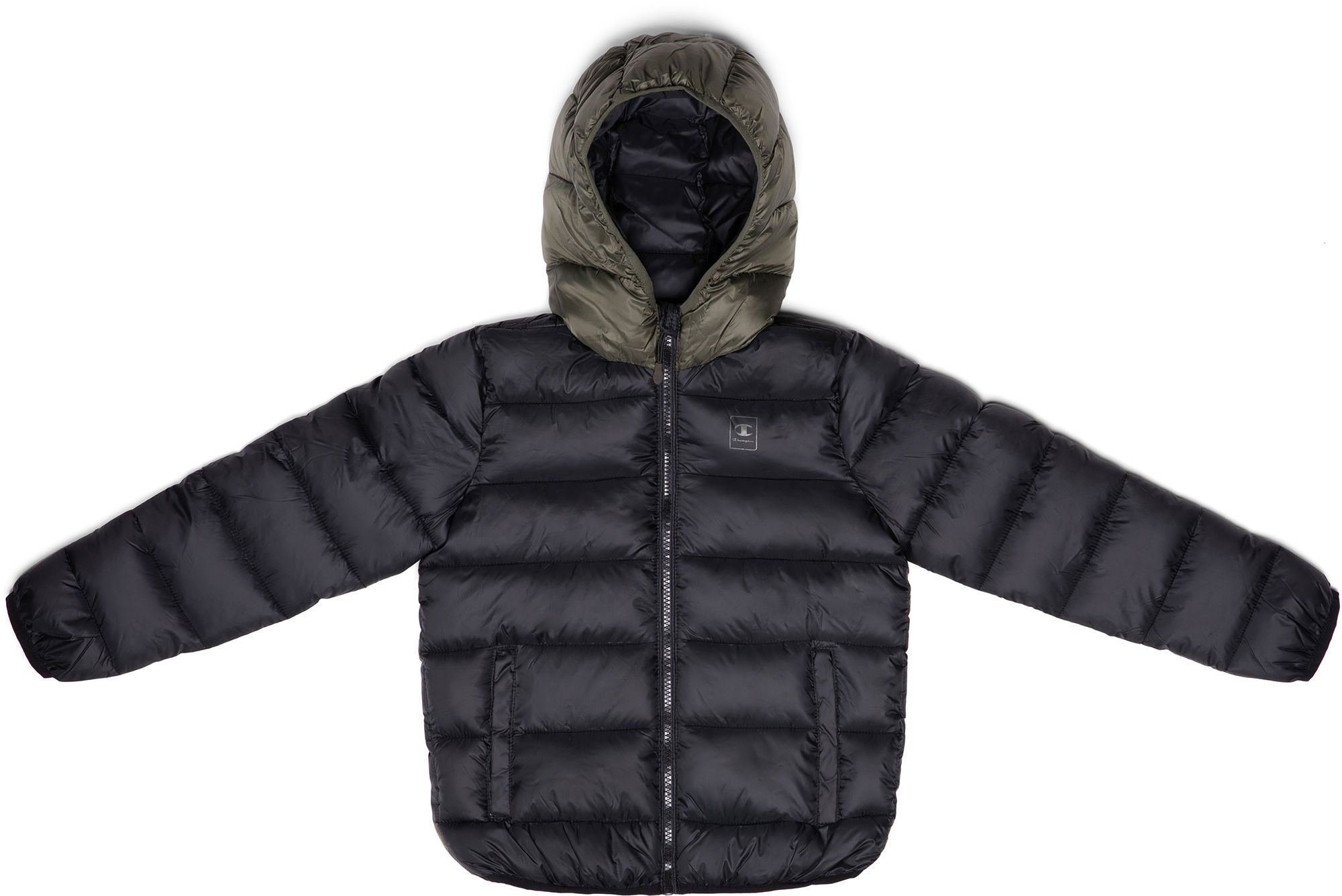 Champion Hooded Jacka, Black Beauty XS