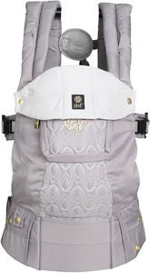 Lillebaby Complete Embossed Luxe Bärsele, Pewter