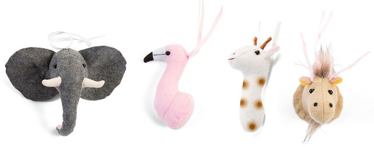 Childhome Accessoar till Babygym 4-pack, Animal