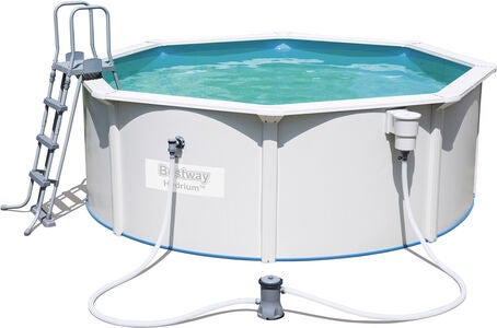 Bestway Hydrium Pool m. Pappersfilterpump Ø360