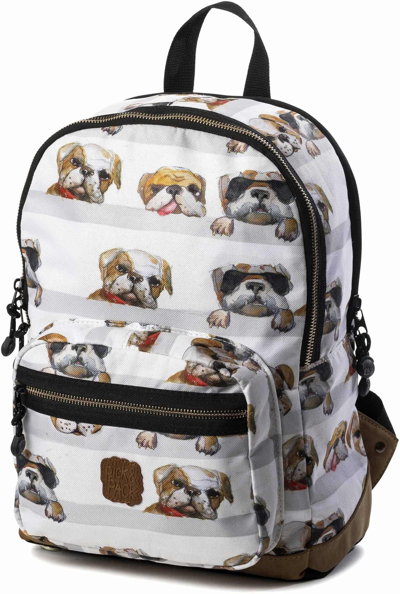 Pick & Pack Ryggsäck Hund, White