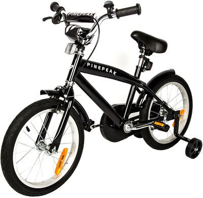 Pinepeak Barncykel Cruise 16 tum, Black