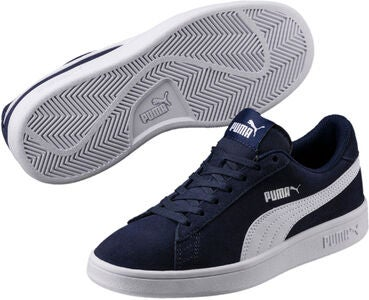 Puma Smash V2 SD Jr Sneaker, Peacoat