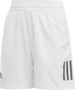 Adidas Boys Club 3-Stripes Shorts, White