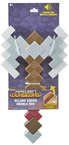 Minecraft Sound Foam Roleplay Battle Dungeons Double Axe