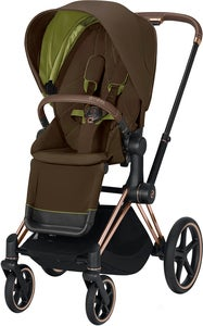 Cybex Priam Sittvagn, Khaki Green/Rose Gold