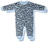 Tiny Treasure Maxime Jumpsuit  2-Pack, Baby Blue