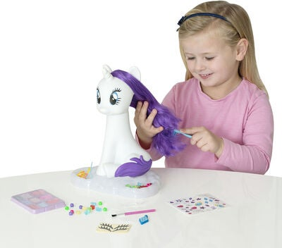 My Little Pony Stylinghuvud Häst Rarity