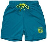 Hyperfied Logo Shorts, Harbor Blue
