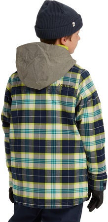 Burton Boys Uproar Jacka, Northeastern Plaid