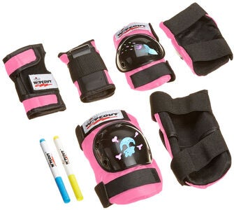 Wipeout Skyddset 3-pack, Pink