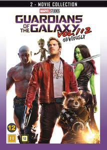Marvel Guardians Of The Galaxy 1 & 2 DVD