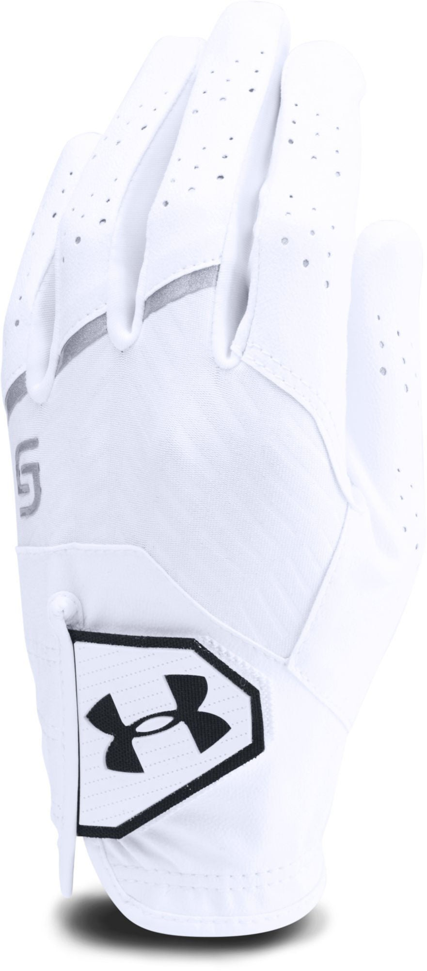 Under Armour Youth Coolswitch Golfhandske Vänster, White S